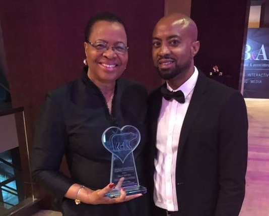 Ms Machel Receives Her Award